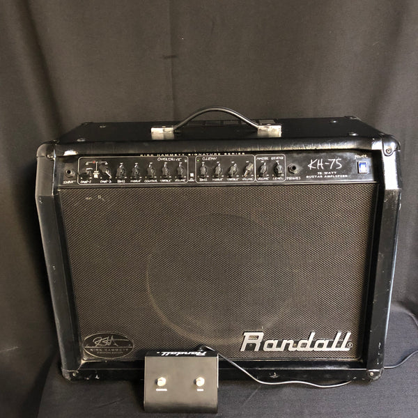 Used Randall KH75 75w 1x12 Guitar Combo 020819