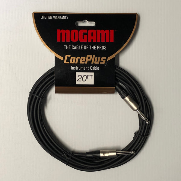 Mogami CorePlus Instrument Cable - 20'