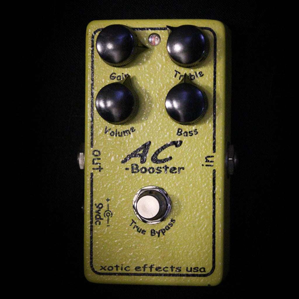 Used Xotic Effects AC Booster Pedal 011921