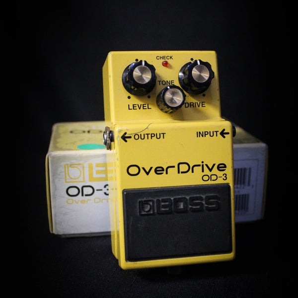 Used Boss OD-3 Overdrive Pedal 021421