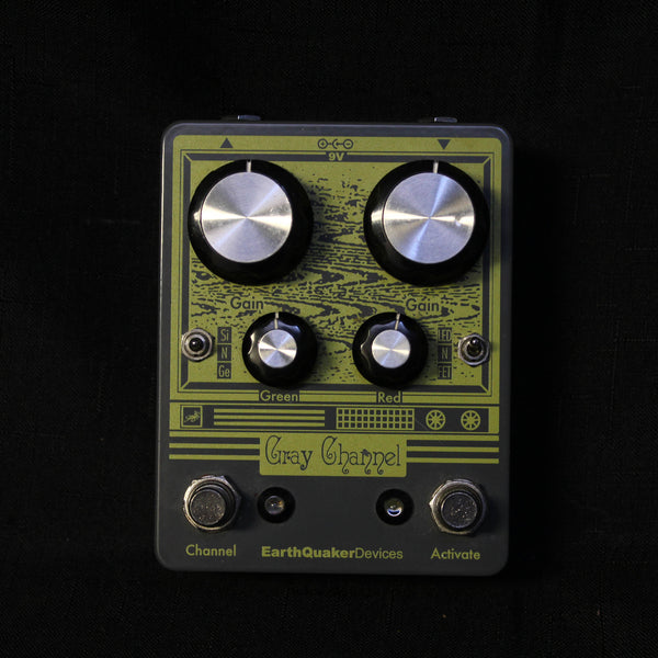 Used Earthquaker Devices Gray Channel Overdrive Pedal 040821