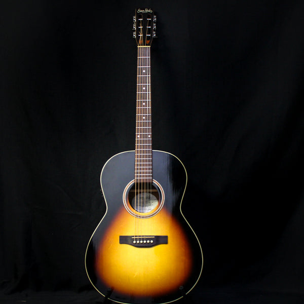 Used Simon & Patrick Woodland Pro Folk Acoustic Electric Guitar - Sunburst 050719