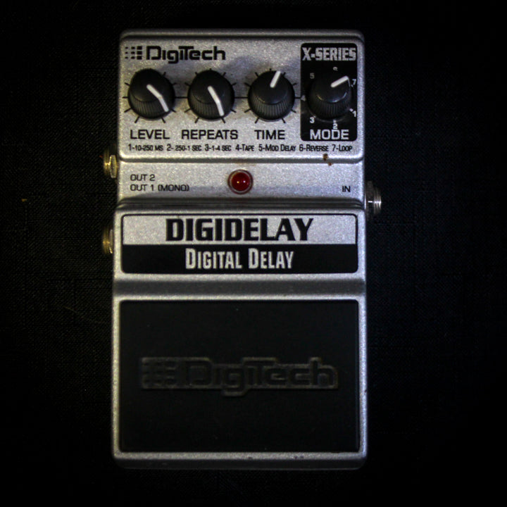 Used Digitech Digidelay Delay Pedal 051919