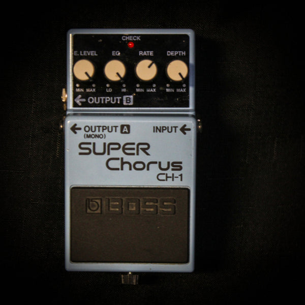 Used Boss CH-1 Super Chorus Pedal 051919
