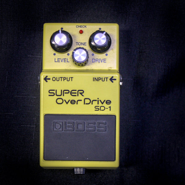 Used Boss SD-1 Super Overdrive Pedal 061119