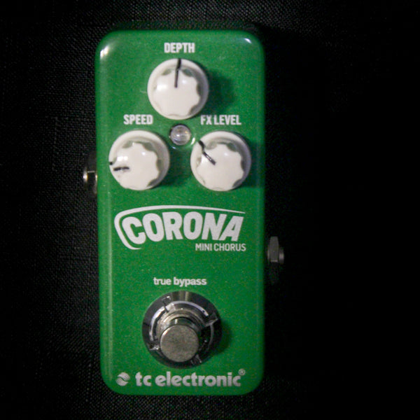 Used TC Electronic Corona Mini Chorus Pedal 082218