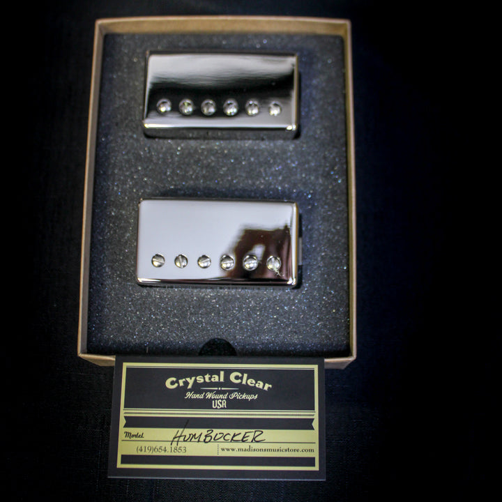 Crystal Clear Pickups - Handwound Modern Humbucker Pickups