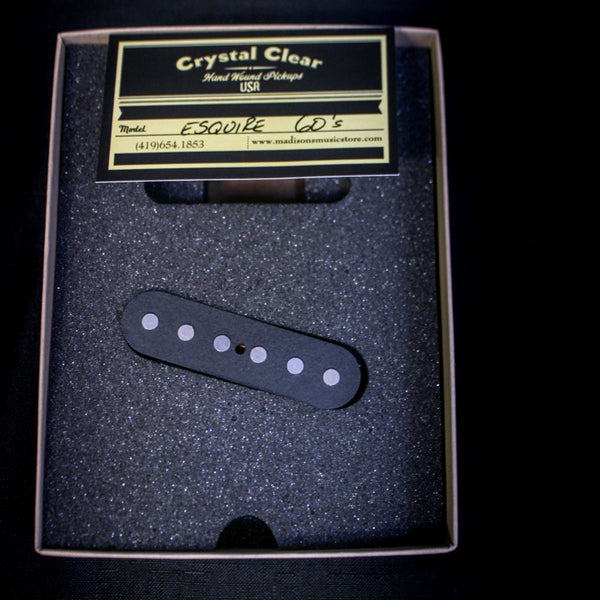 Crystal Clear Pickups - Handwound '60s Esquire Pickups