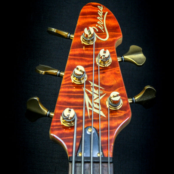 Peavey Cirrus 5-String Bass w/ Case - Tiger Eye