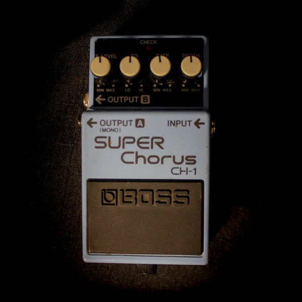 Used Boss CH-1 Super Chorus Pedal 062819
