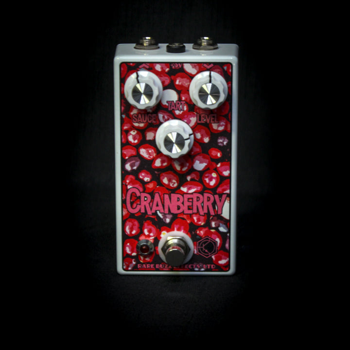Rare Buzz Effects Cranberry Drive Overdrive Pedal