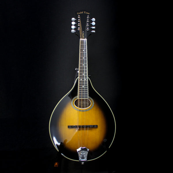 Gold Tone G50+ A-Style Solid Top Mandolin w/ Pickup & Case