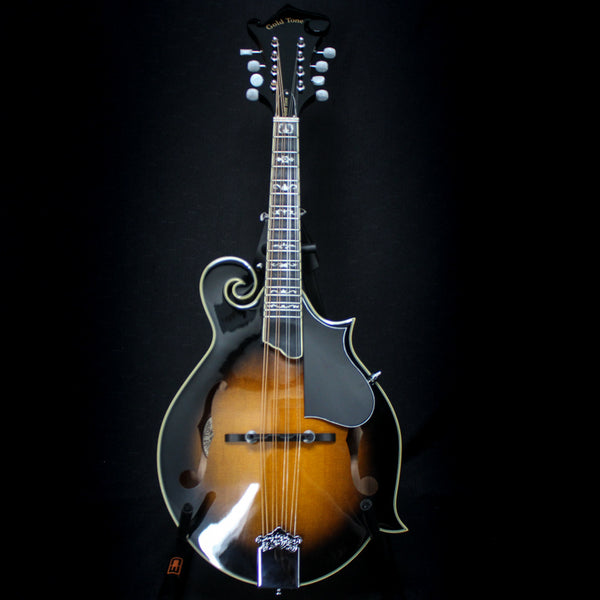 Gold Tone F-Style Mandolin w/ Case - Maple / Spruce