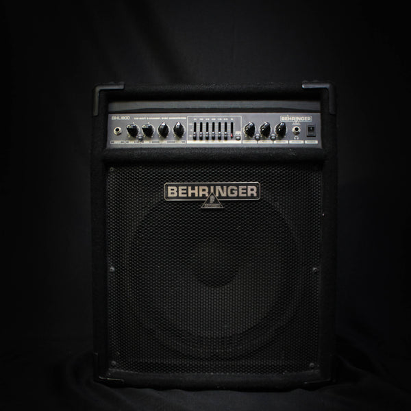 "Used Behringer BXL1800 1x12"" 180w Bass Combo Amp 071120"