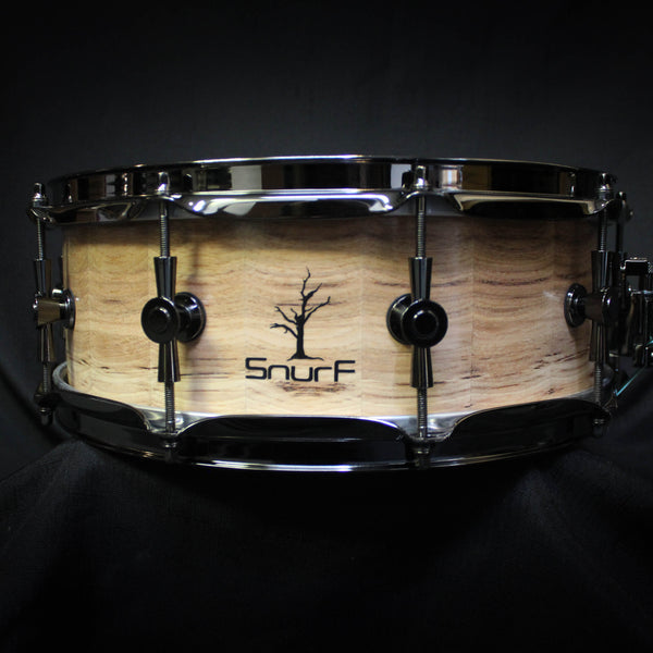 "Snurf Drums Custom Horizontal Hickory 14"" x 5.5"" Snare Drum - Natural"