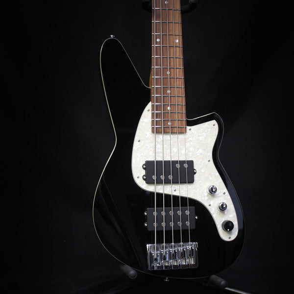 Reverend Mercalli 5 5-String Bass - Midnight Black