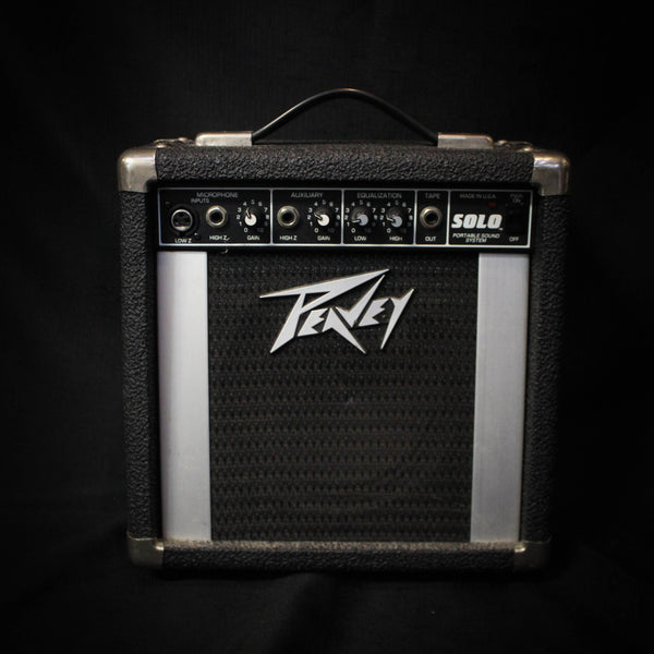 Used Peavey Solo Portable Sound System 073020