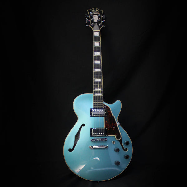 D'Angelico Premier SS Stoptail w/ Bag - Ocean Turquoise