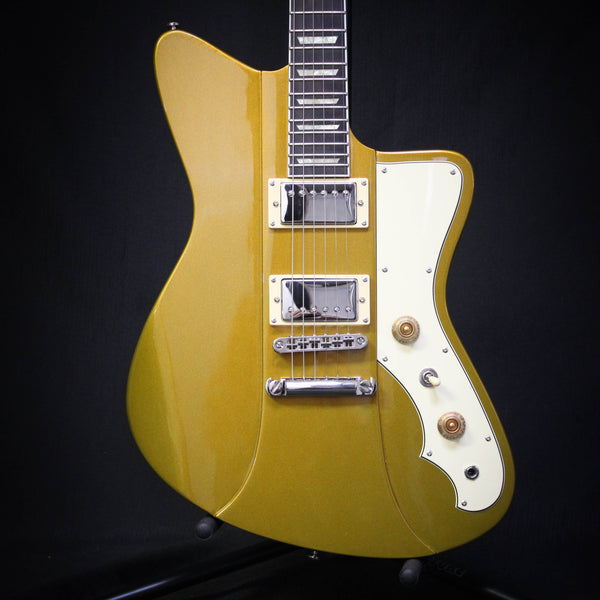 Rivolta Mondata II HB Electric Guitar - Capo Gold