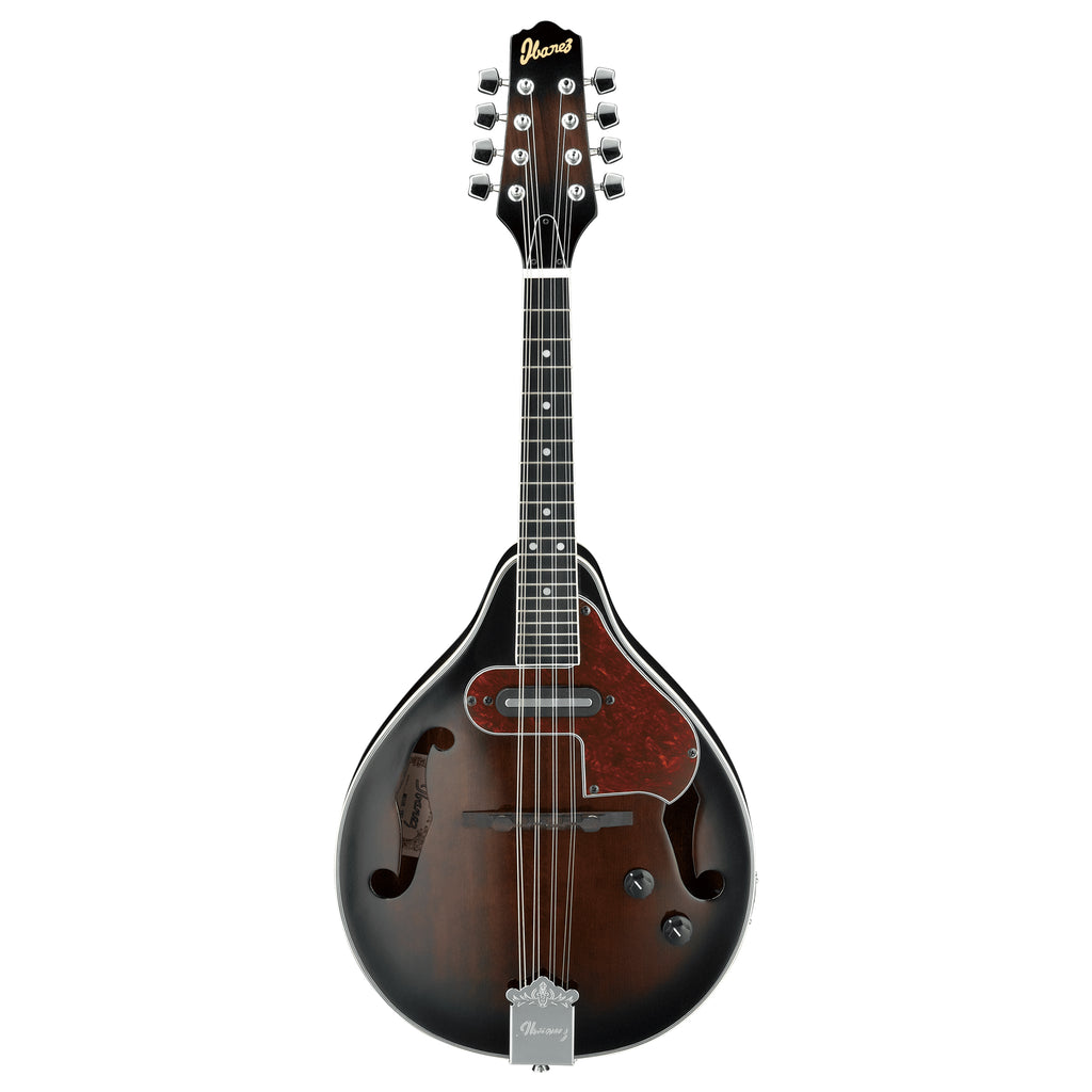 Ibanez M510E A-Style Mandolin - DVS Dark Violin Sunburst High Gloss