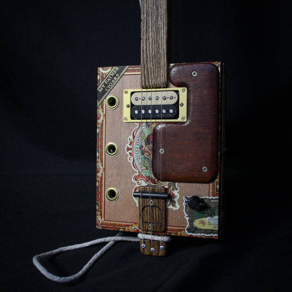 Josh Denning Hand-Made Cigar Box Guitar - Standard