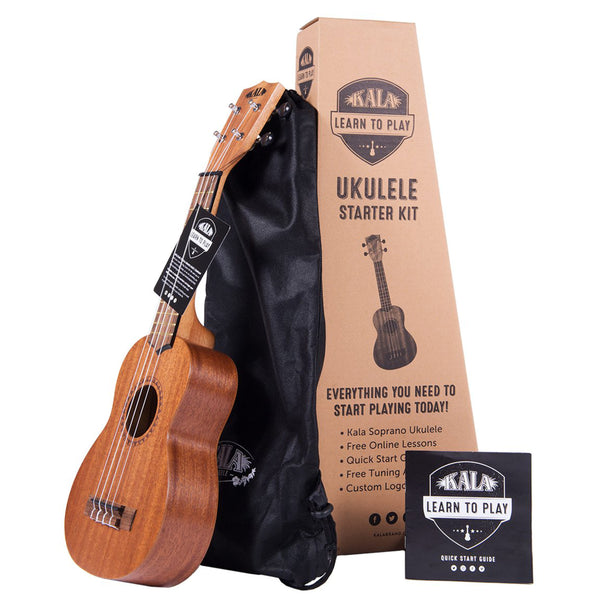 Kala Learn To Play Soprano Ukulele Starter Set
