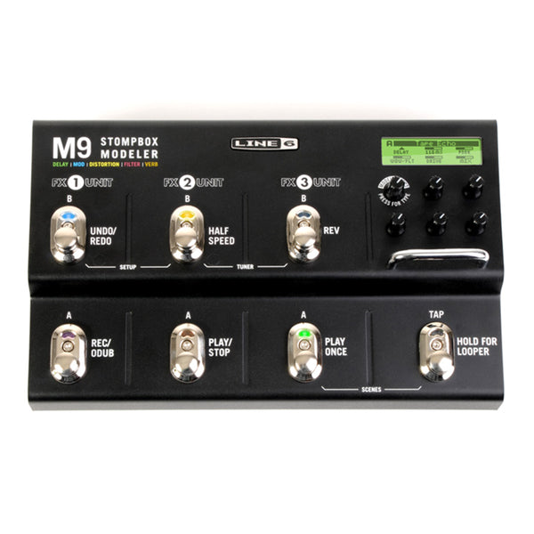 Line 6 M9 Stompbox Modeling Multi Effects Pedal