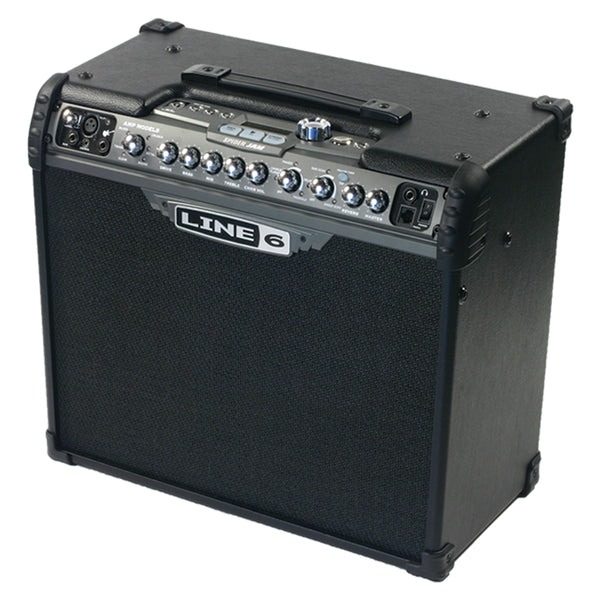 "Line 6 Spider Jam 1x12"" 75w Modeling Guitar Amp w/ Backing Tracks"