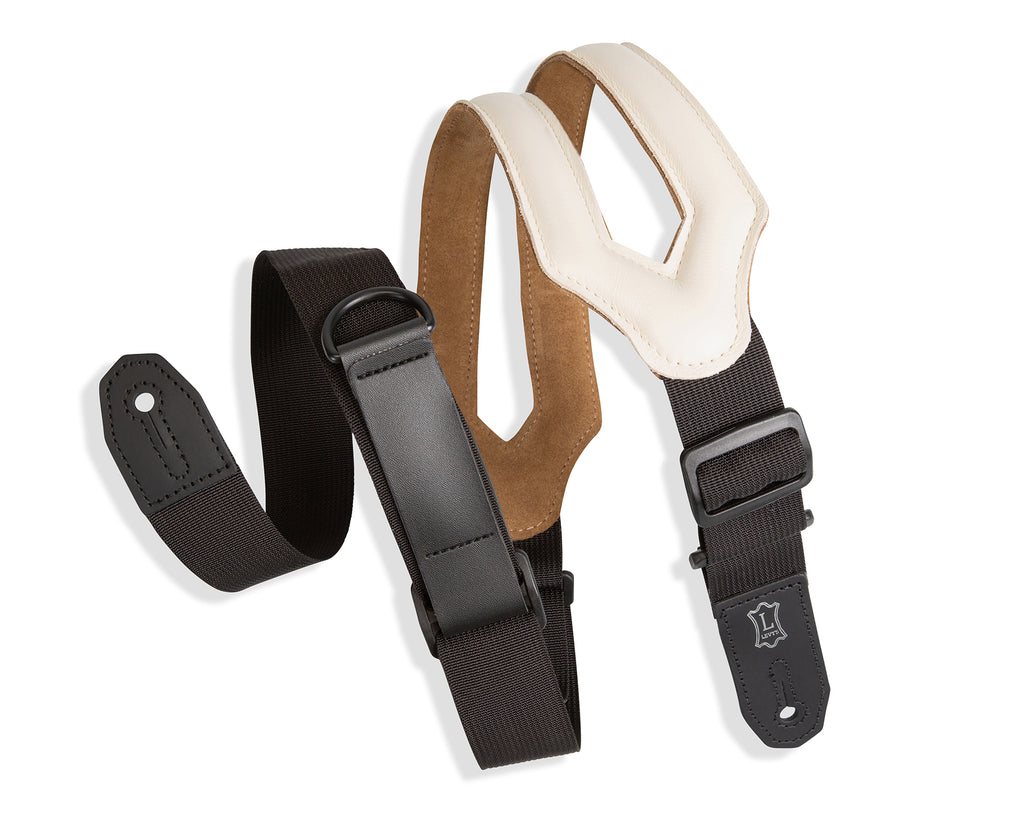 "Levy's  3"" Right Height Ergonomic Garment Leather Strap w/ RipCord Technology"