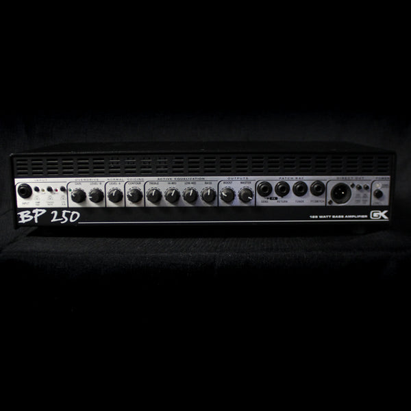 Used Gallien-Krueger BP250 125w Bass Head 100819