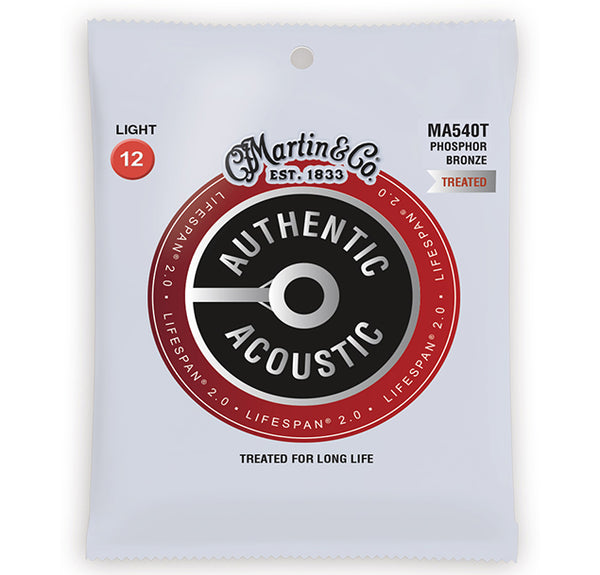 Martin Lifespan 2.0 Treated Acoustic Guitar Strings - Light - 12-54