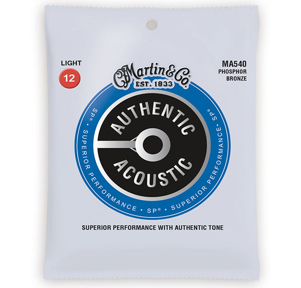 Martin SP Phosphor Bronze Acoustic Strings MA540 - 12-54