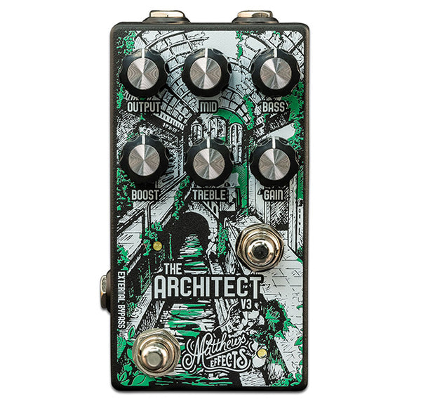 Matthews Effects The Architect v3 Overdrive Pedal