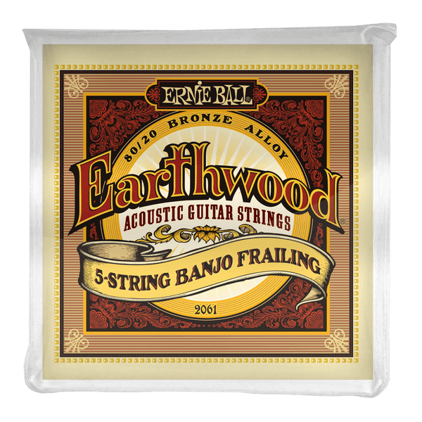 Ernie Ball Earthwood 5-String Banjo Frailing Strings