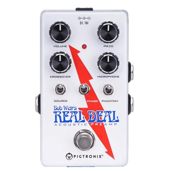 Pigtronix BWP Bob Weir Real Deal Acoustic Pedal