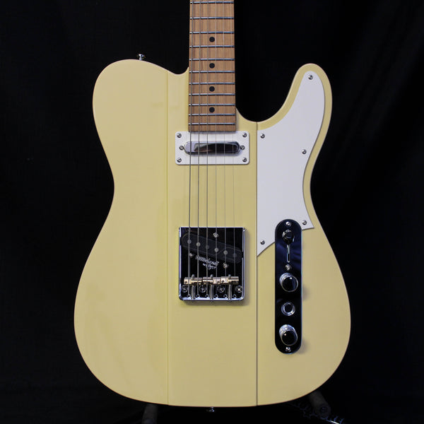 Reverend Greg Koch Signature Gristlemaster Electric Guitar - POW Yellow