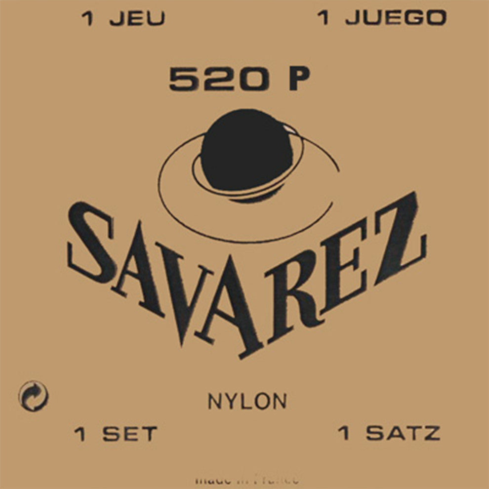 Savarez 520 P High Tension Wound 2nd/3rd Nylon Guitar Strings