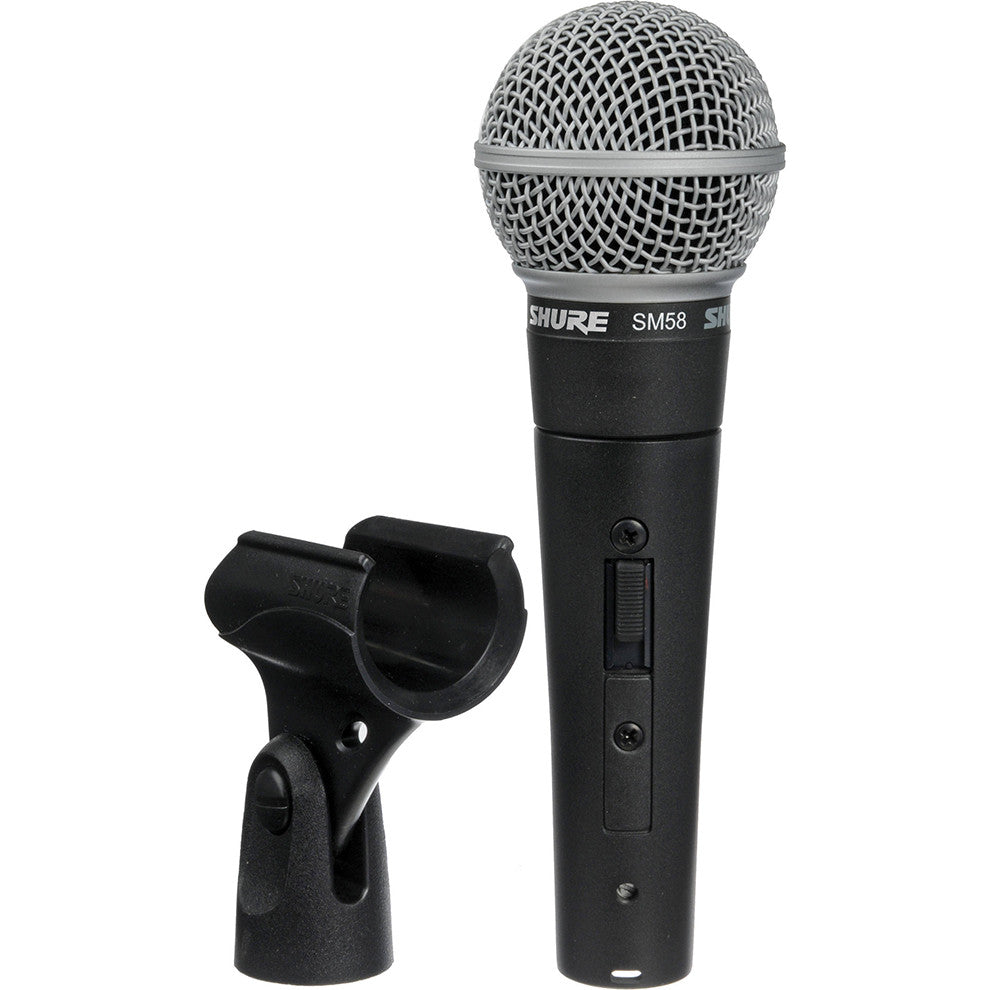 Shure SM58S Dynamic Microphone w/ Switch