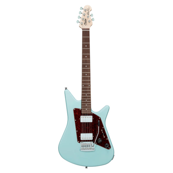 Sterling S.U.B. Series Albert Lee Signature Guitar - Daphne Blue