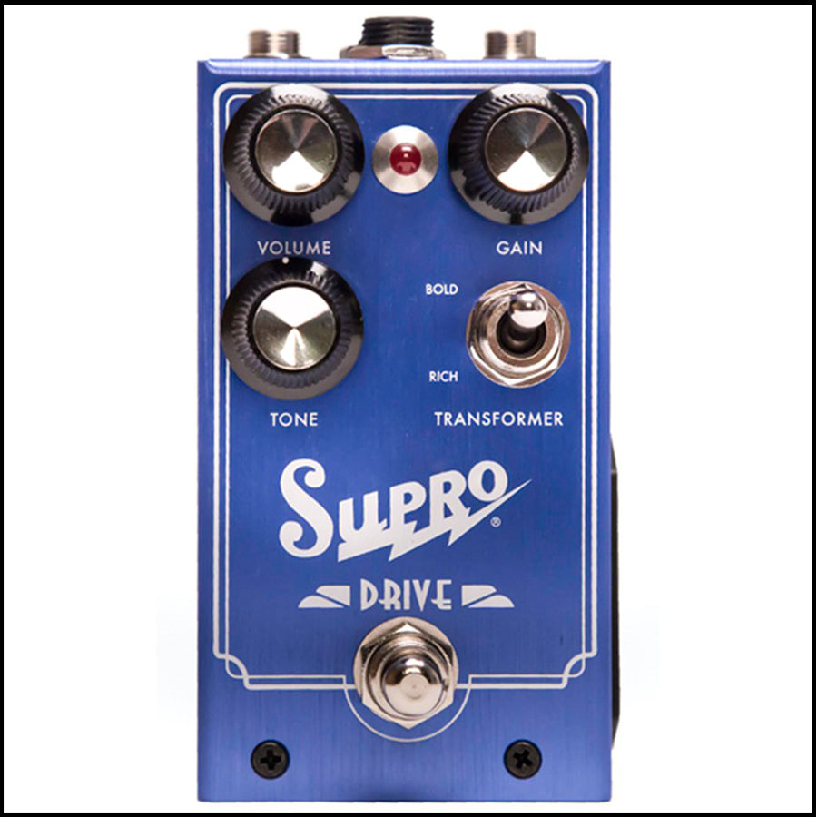 Supro Drive Overdrive Pedal