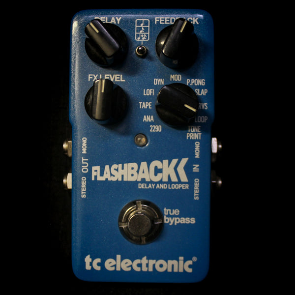 Used TC Electronic Flashback Delay and Looper Pedal 101019