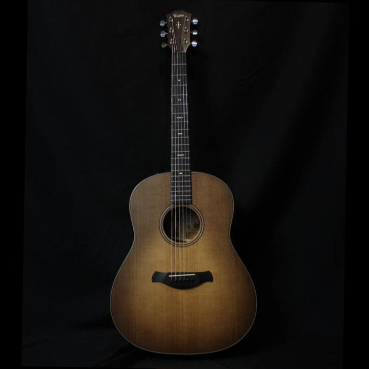 Taylor Builder's Edition 517e Grand Pacific w/ Western Floral Case - Wild Honey Burst