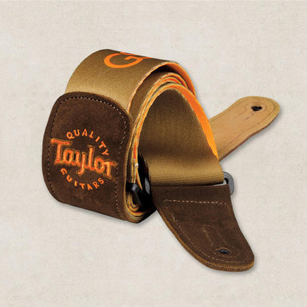 Taylor GS Mini Guitar Strap - Signature Brown