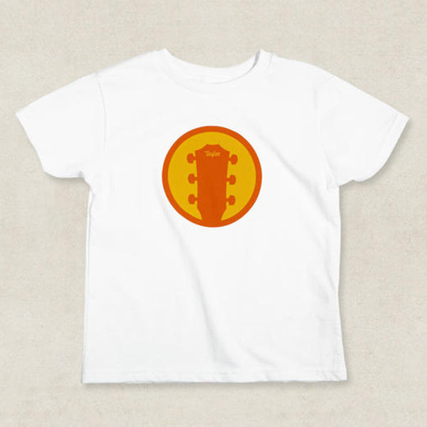 Taylor Guitars Logo Kids Icon Tee - White