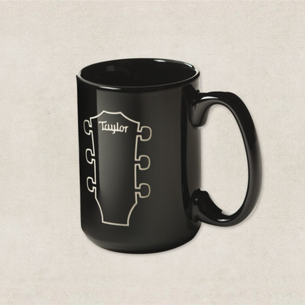 Taylor Peghead Etched Mug - Black - 15oz