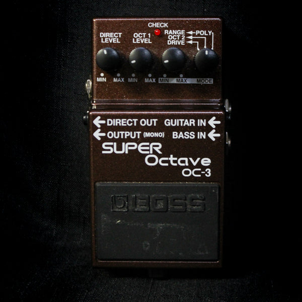 Used Boss OC-3 Super Octave Pedal 110219