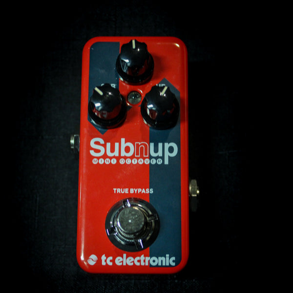 Used TC Electronic Sub N Up Mini Octave Pedal 013020