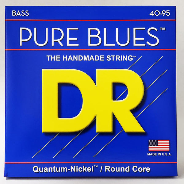 DR Pure Blues Electric Bass Guitar Strings 40-95