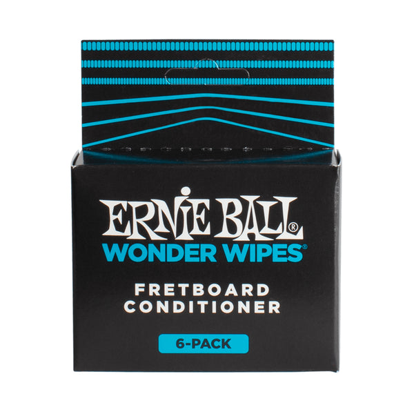 Ernie Ball Wonder Wipes Fretboard Conditioner Six Pack