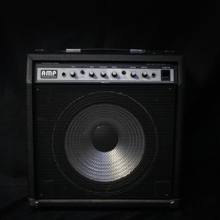"Used Amplified Music Products AMP Lead Amplifier Model 312 1x12"" Guitar Combo 031220"